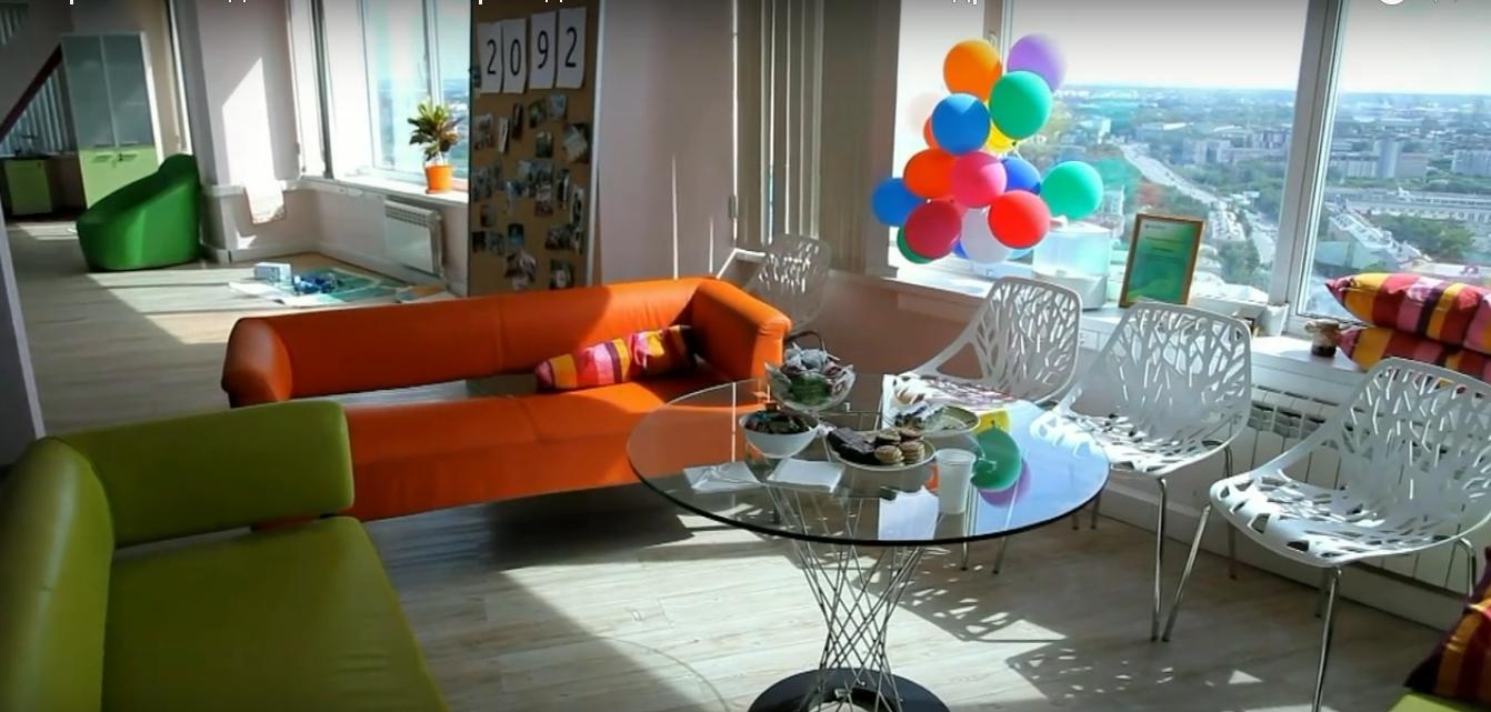 уютный офис 2Gis, уютен как и в Pokupo