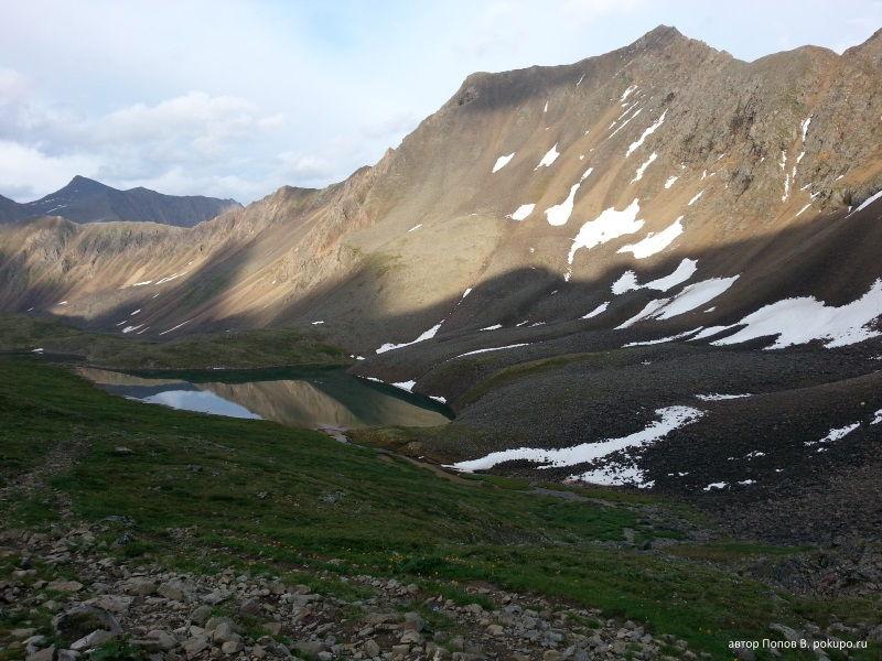 озеро за перевалом